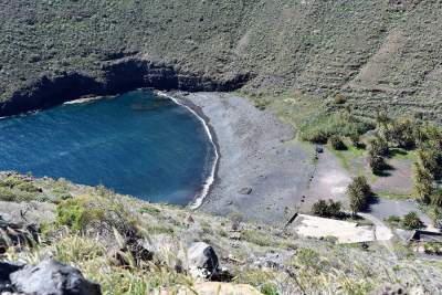 The beach in San Sebastian de La Gomera