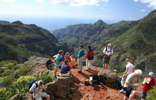 Hiking on La Gomera