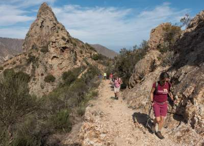 Hiking tour in Hermigua on  La Gomera