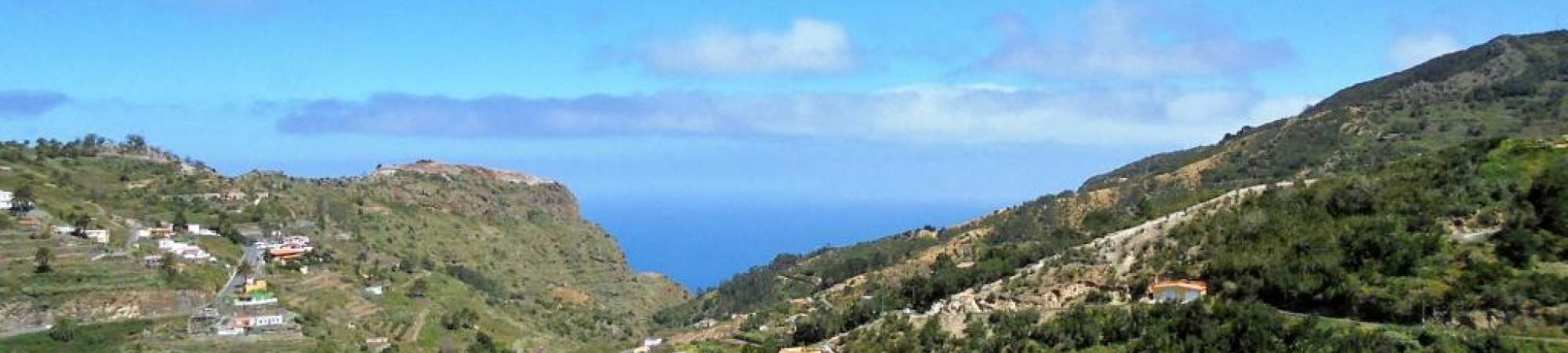 The small village Las Rosas on La Gomera